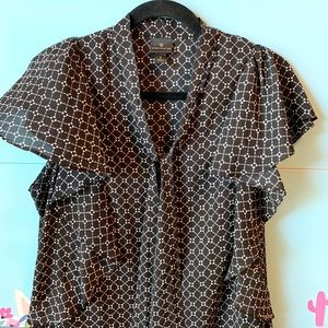 Worthington Career Blouse, Size Large